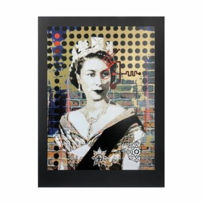 Queen 1.19 (G) BV [Gold Variant on Black Paper]