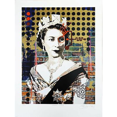 Queen 1.19 (G) [Gold Variant on White Paper]