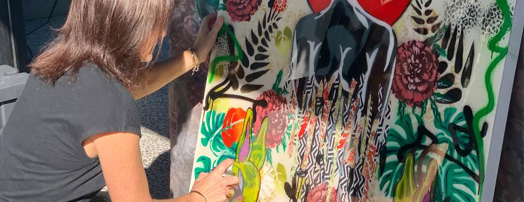 NZ Artist Rachel Rush... and RUSH