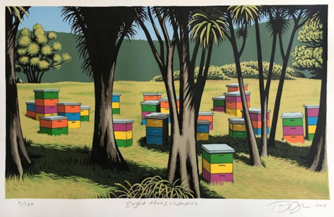 Tony Ogle Bright Hives